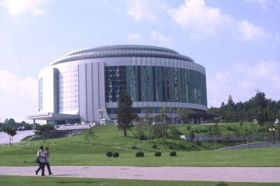 Uno de los muchos teatros de Pyongyang