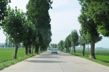 Carretera rural norcoreana